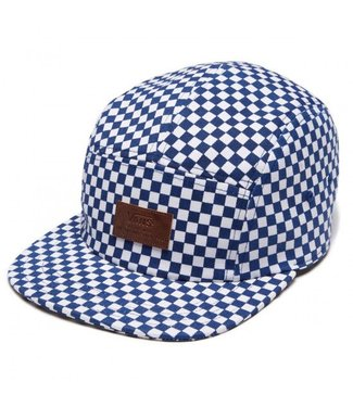 Vans Davis 5 True Blue and White Panel Camper Hat