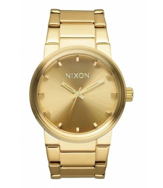 Nixon Cannon All Gold 39.5MM Watch