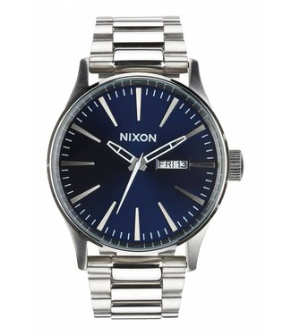 Nixon Sentry SS Blue Sunray Watch