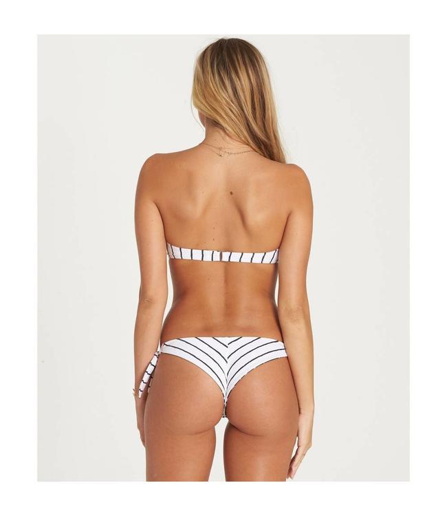 Billabong Flora Beat Tanga Seashell Bikini Bottom