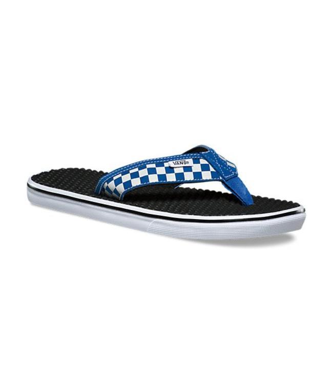 Vans La Costa True Blue White Checkerboard Lite  a75ef2748