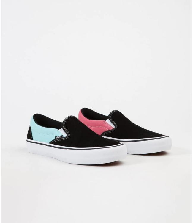 2dbf386f073e35 Vans Asymmetry Slip On Pro Shoes