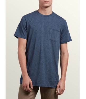Volcom Navy Short Sleeve Pocket Tee