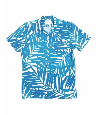 Duvin Design Co. Leaves Teal Buttondown Shirt