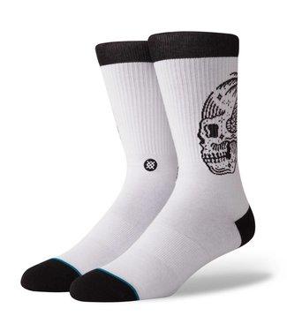 Stance Skull Palm White Socks