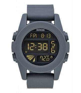 Nixon Unit Gunmetal and Blue Watch