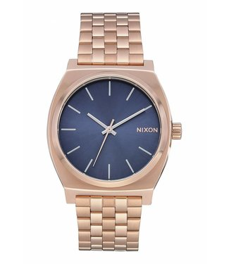 Nixon Time Teller Rose Gold and Storm Watch