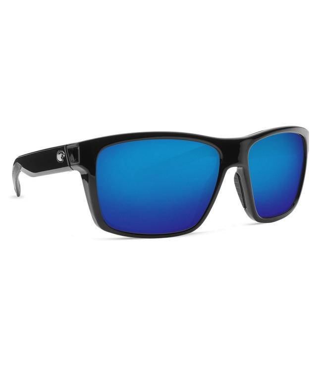 Costa Del Mar Slack Tide SH Black 580P Blue Mirror Lens Sunglasses