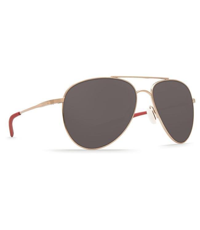 Costa Del Mar Cook Rose Gold 580P Grey Lens Sunglasses