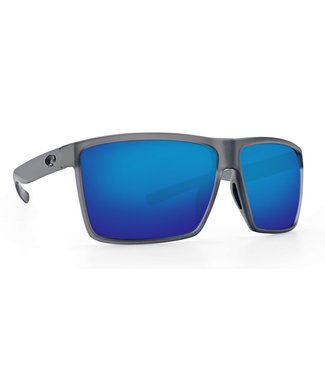 Costa Del Mar Rincon Smoke Crystal 580G Blue Mirror Lens Sunglasses