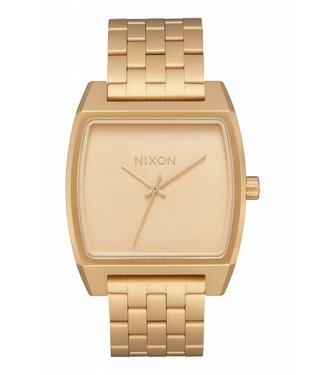 Nixon Time Tracker All Gold Watch