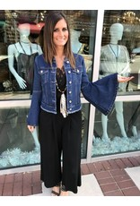 Bell Sleeves Denim Jacket