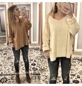 Main Strip Hi/Low Sweater