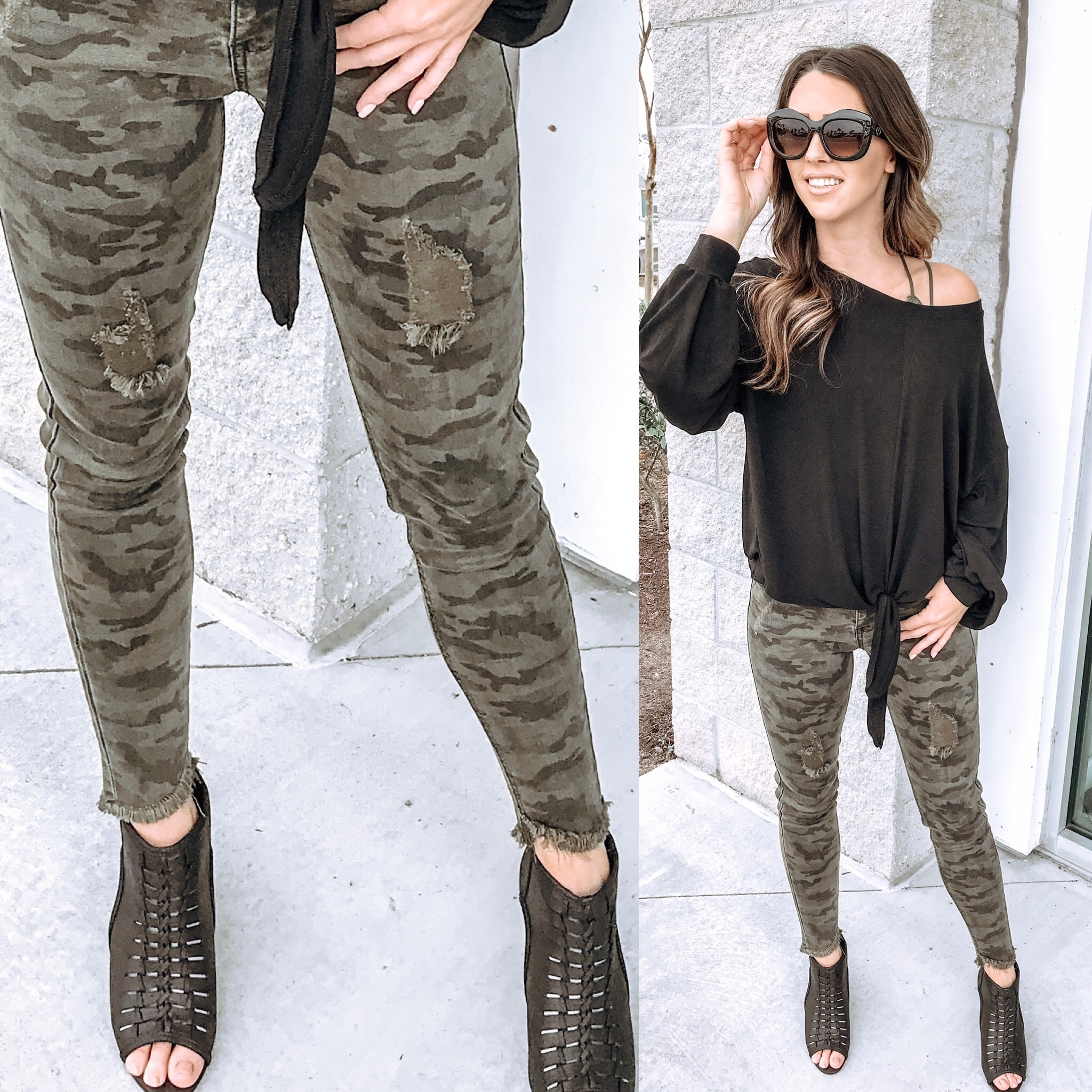 Camo Jeans - Olive