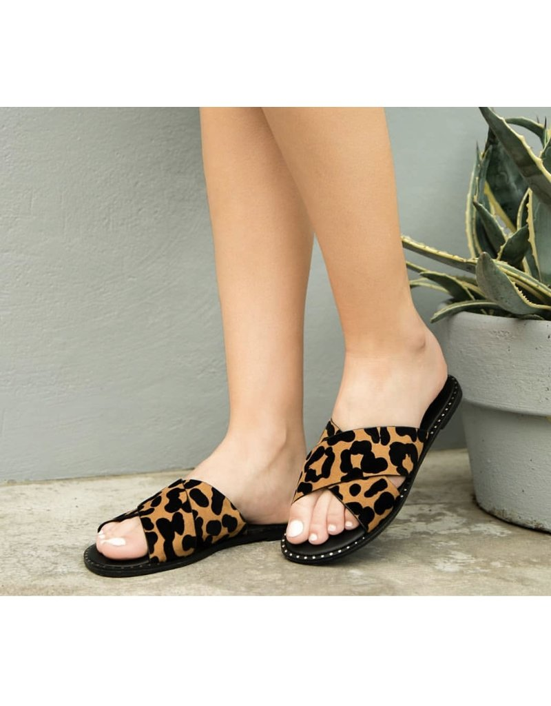 I am So Sassy  Sandals - Leopard