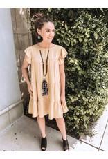 D30571-05 Babydoll Dress - Mustard
