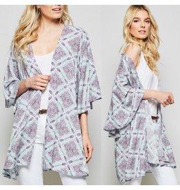 Boho Kimono - Sage