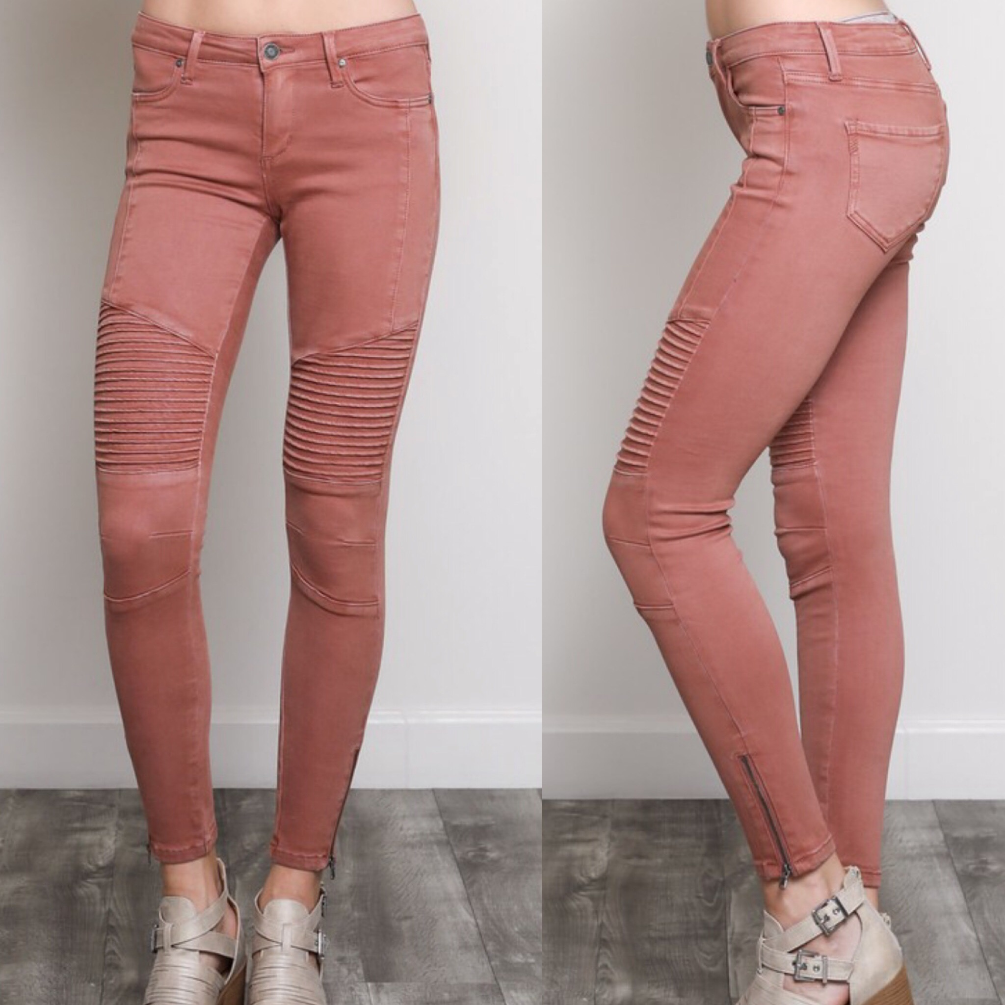 Moto Jeans - Burlwood