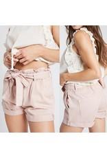 Denim Shorts  - Blush