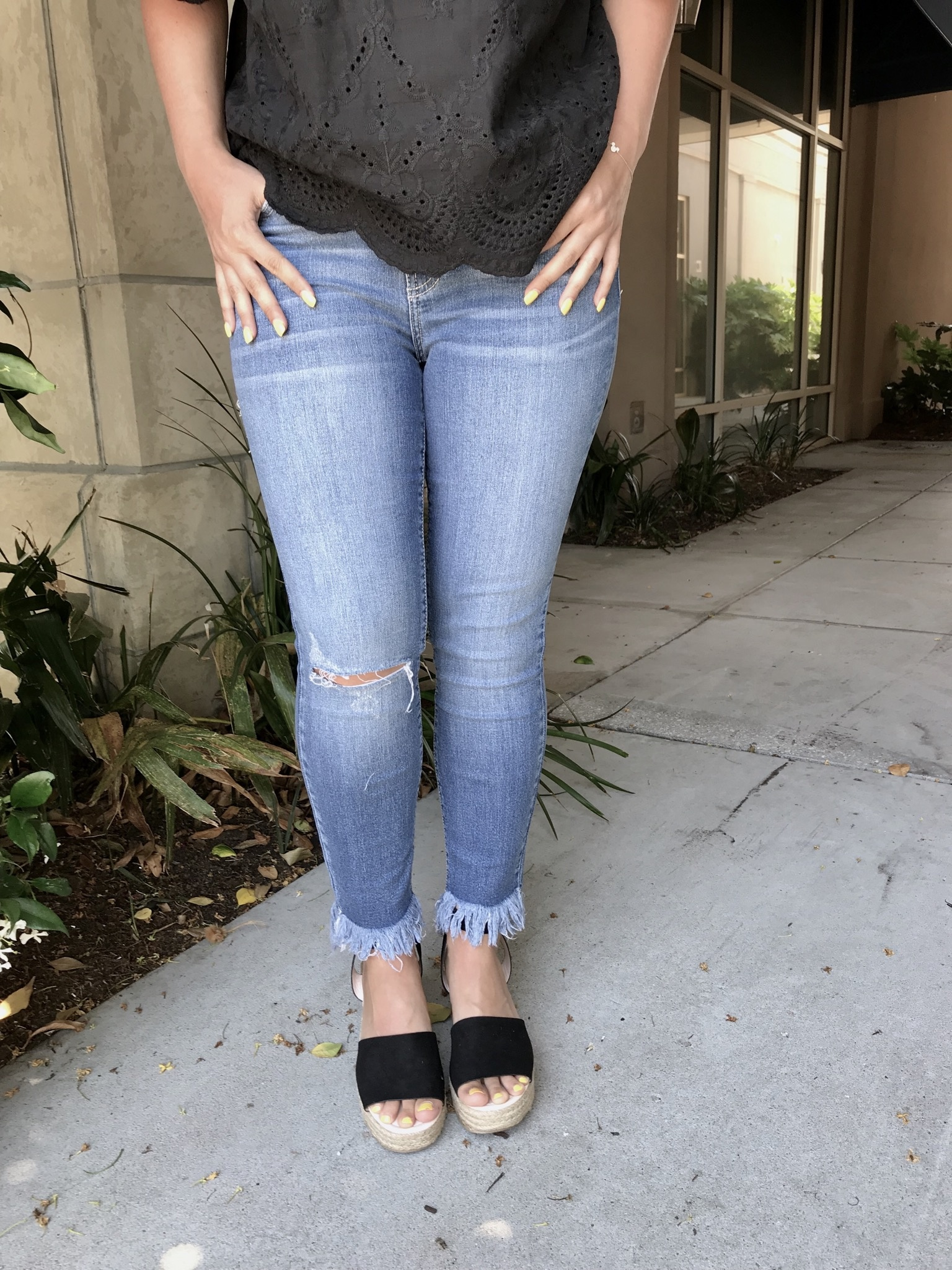 Miss Sassy High Rise Jeans