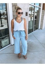 Cropped Tencel Pants