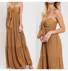 Bow Detail Maxi Dress - Gucci