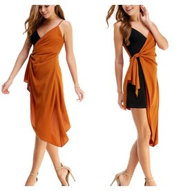 TCEC Two Tone Dress - Camel