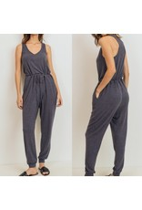 Cozy Jumpsuit - Charcoal