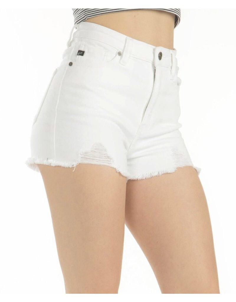Bianca  High Rise Denim Shorts