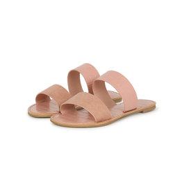 Qupid Reese Sandals - Blush