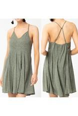 Boho Dress - Moss
