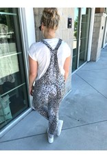 Leopard Overall - Grey