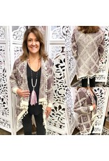 FATE Aztec Cardigan