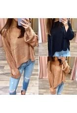Oversized Pocket Sweater