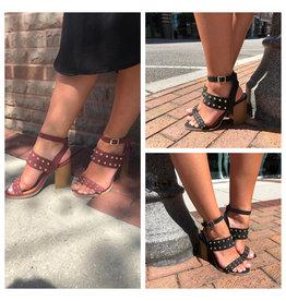 Qupid Brammer Studded Sandals