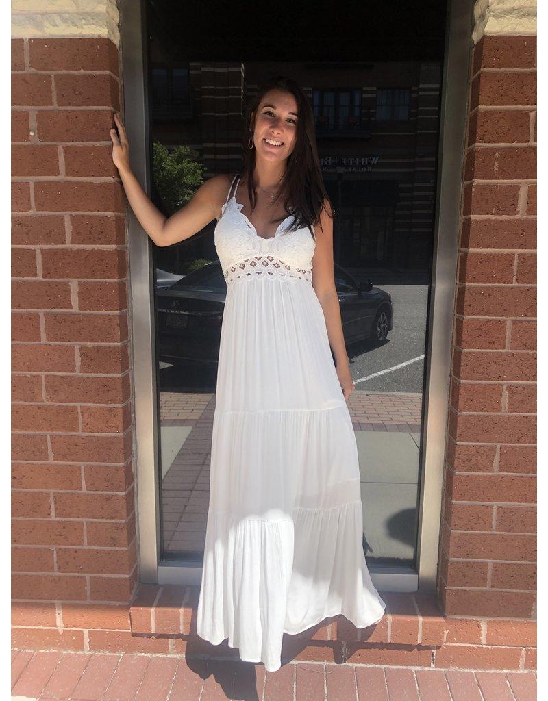 Bralette Maxi Dress - Ivory