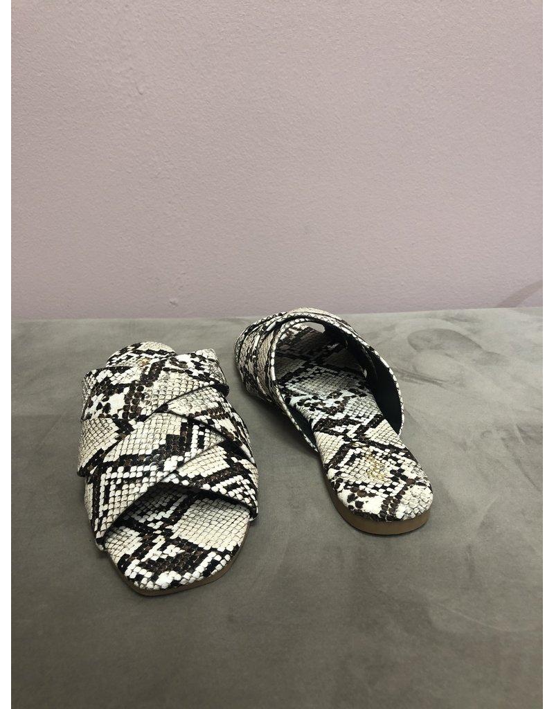Qupid Hazy Sandals - Snake
