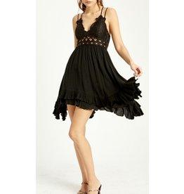 Bralette Dress - Black