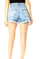 Piper High Rise Denim Shorts
