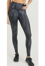 MonoB Camo Foil Leggings - Black