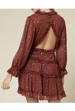 Metallic Star Dress