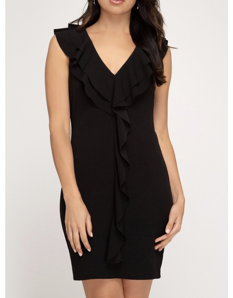 Bodycon Dress - Black