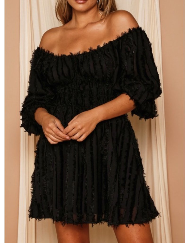 Fringe Detail Dress