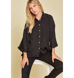 Button Down Shirt - Black