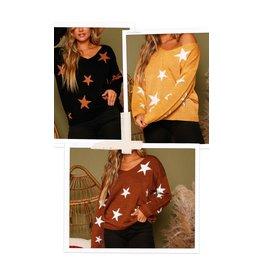 Lightweight Star Sweater