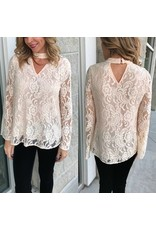 Lace Top - Ivory