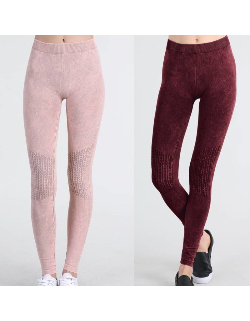 SEAMLESS VINTAGE SHIRRING LEGGINGS