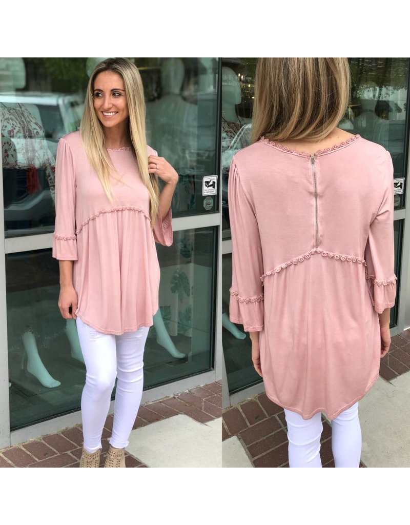 Babydoll Top - Pink