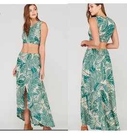 Tropical Print 2pc. Set