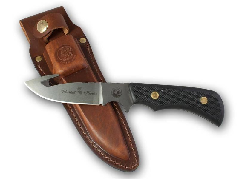 Knives Of Alaska Trekker Whitetail Suregrip Black